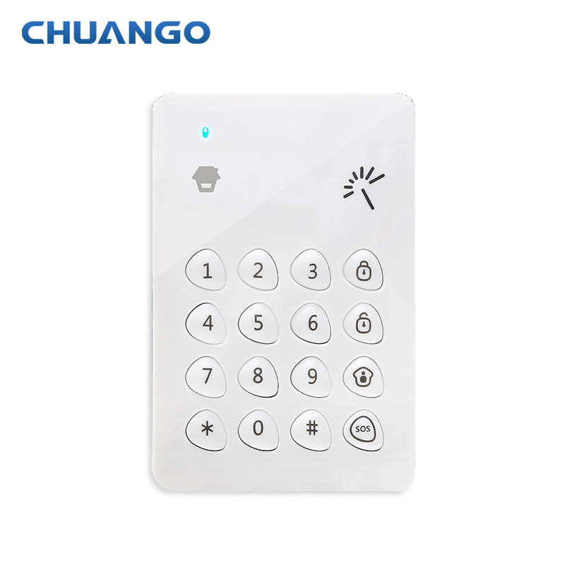 Chuango Wireless Keyboard Keypad 315mhz For Chuango GSM PSTN Alarm SystemChuango Wireless Keyboard Keypad 315mhz For Chuango GSM PSTN Alarm System