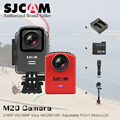 (Genuine)SJCAM M20 WiFi Gyro Mini Action Camera 16MP Cameras Sports Sj Cam DV+2 Battery+Dual Charger+Remote Watch+Remote Monopod