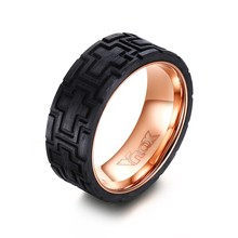 Carbon Size Men's Jewelry