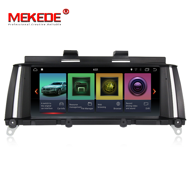 MEKEDE IPS screen 2GB+32GB android 7.1 Car DVD Multimedia player for BMW X3 F25 2010-2013 Original CIC/NBT System gps navigationMEKEDE IPS screen 2GB+32GB android 7.1 Car DVD Multimedia player for BMW X3 F25 2010-2013 Original CIC/NBT System gps navigation