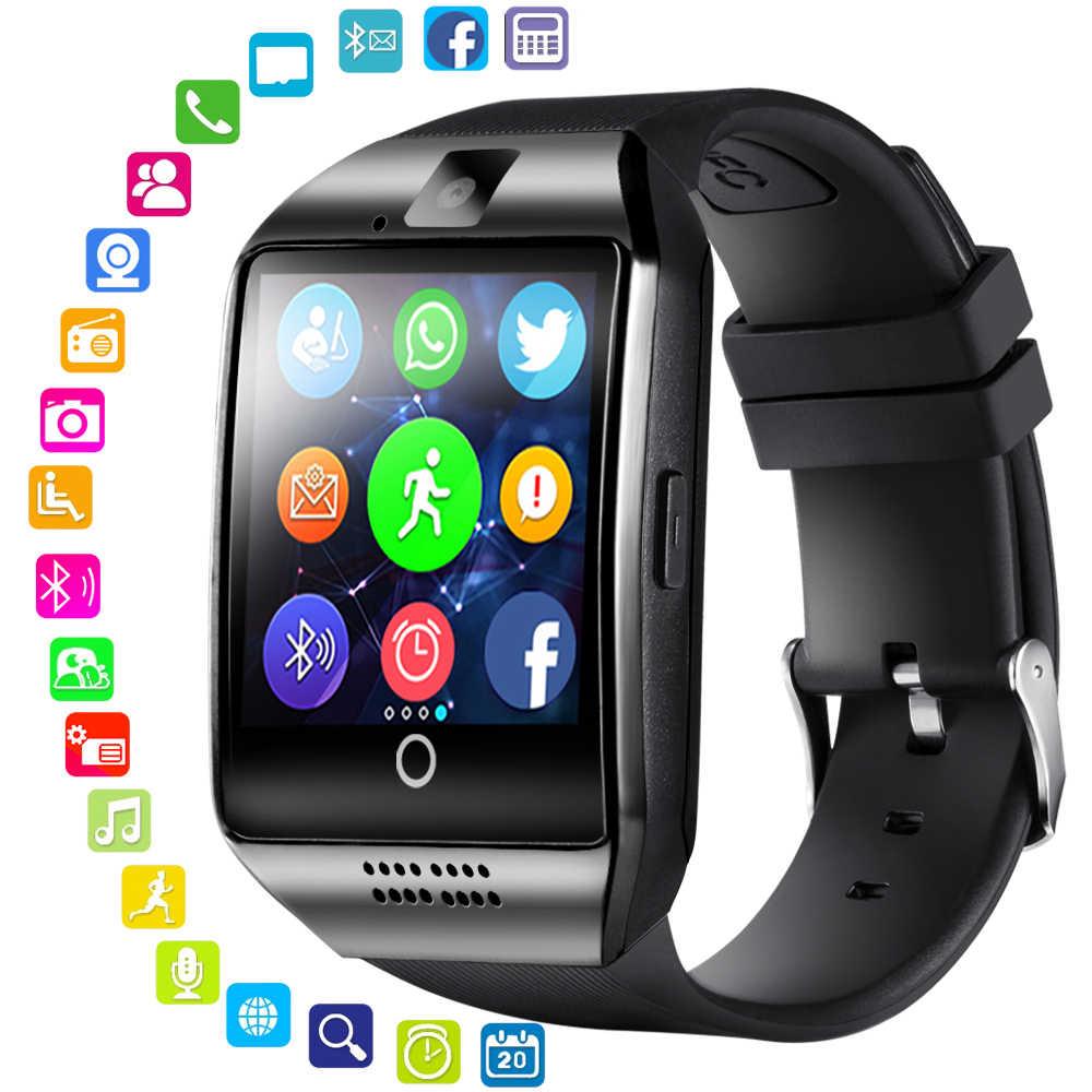 Bluetooth Q18 Akilli Saat Appor Destek Sim Kart Bluetooth Kamera Baglanti Akilli Saat Izle Smartwatch Pk Gt08 Smart Clock Watch Gt08 Smartwatchsmart Watch Aliexpress