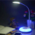 Interruptor de Toque colorida RGB Olho-proteção Energy-saving LED Lâmpada de Mesa usb conduziu a lâmpada Portátil Recarregável Bateria Livro luz.