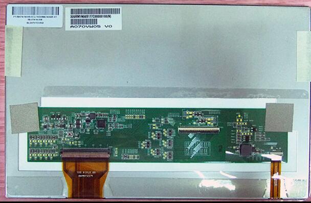 AUO AUO A070VW05 V0 original Huayang / Lute Shi Excelle 7-inch LCD screen A070VW05 V0 original new free shipping auo 12 1 inch dual lamp lcd screen auo 12 1 inch g121sn01 v0 v1 v3