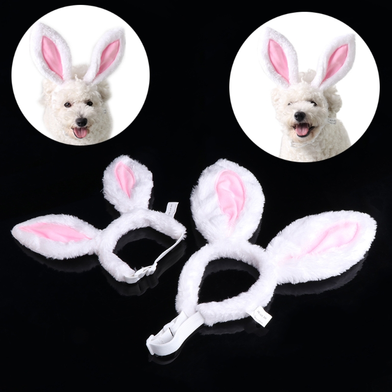 Pet Kitten Head Band Costume Cosplay Dog Cat Puppies Hair Accessory Halloween Christmas Kitty Party Outfit New Year
