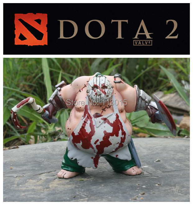 defense of the ancients dota2 figure pudge dolls inscribed