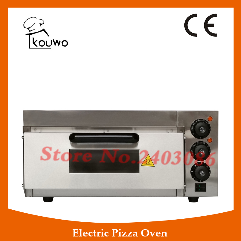 commercial bakery equipment electirc 1 layer bread Pizza baking Oven for sale factory price pizza cone oven pizza cone machine pizza vending machines for sale
