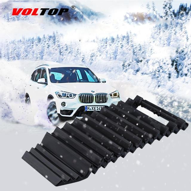 VOLTOP Car Snow Chains Mud Tires Traction Mat Wheel Chain Non slip Tracks Auto Winter Road Turnaround Tool Anti Slip Grip Tracks