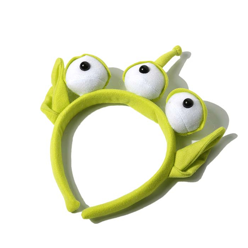 Novelty New Toy Story Alien Ears Costume Plush toy Headband Adult Kids Child Birthday Party Masquerade Cosplay Christmas Gifts(China)