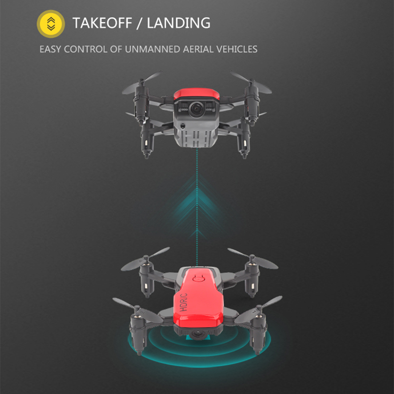 Foldable Mini Drone With RC Quadrocopter With Camera HD Quad-Counter With High Hold RC Helicopter VS E61 HS210 LF606 S9HW E016H 3
