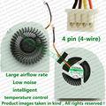 100% Testado Brand New Ventilador da CPU Para LENOVO LENOVO Y480 Y480A Y480G Y480M Laptop Reparação Parte substituição de Refrigeração refrigerador de Ventoinha
