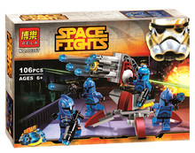 Bela10367 Star Wars The Avengers Senate Commando Trooper Building Blocks Minifigures Sets Bricks baby Toys