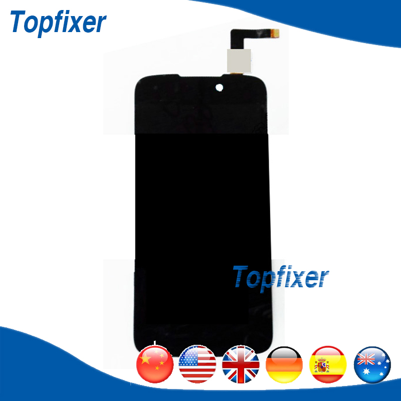 ФОТО For DNS S4508 LCD Display Touch Screen Panel Digitizer Assembly Replacement 1PC/Lot