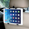 Assento de carro de volta encosto de cabeça montar titular para ipad 2 3/4 ar 5 ar 6 ipad mini 1/2/3 air tablet samsung tablet pc stands car