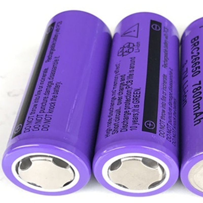 100 New Original 26650 3 7 v 7800 mah 26650 Lithium Rechargeable Battery For Flashlight batteries GTL EvreFire in Rechargeable Batteries from Consumer Electronics