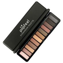 Matte&Shimmer Eyeshadow Palette Waterproof Make Up Nude Pigments Professional Eyeshadow Palette