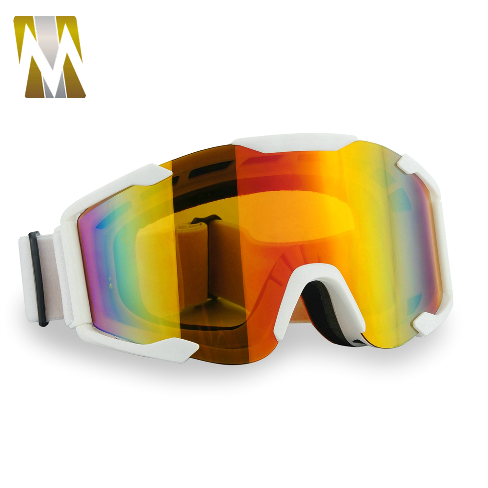 100% BRAND NEW goggles Downhill motocross goggles off-road glasses Orange motorcycle Eyewear Anti-uv rainbow PC lens new arrival soman brand motocross goggles atv casque motorcycle glasses with 5 tear off films