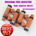 4 PIECES ORIGINAL Fuel Injectors For Marine Yamaha Outboard Mitsubishi 115HP CDH210 INP771 / CDH 210