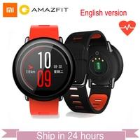 GLOBAL VERSION Xiaomi Huami Watch AMAZFIT Pace BLT 4GB Bluetooth GPS Sports Smart Watch Zirconia