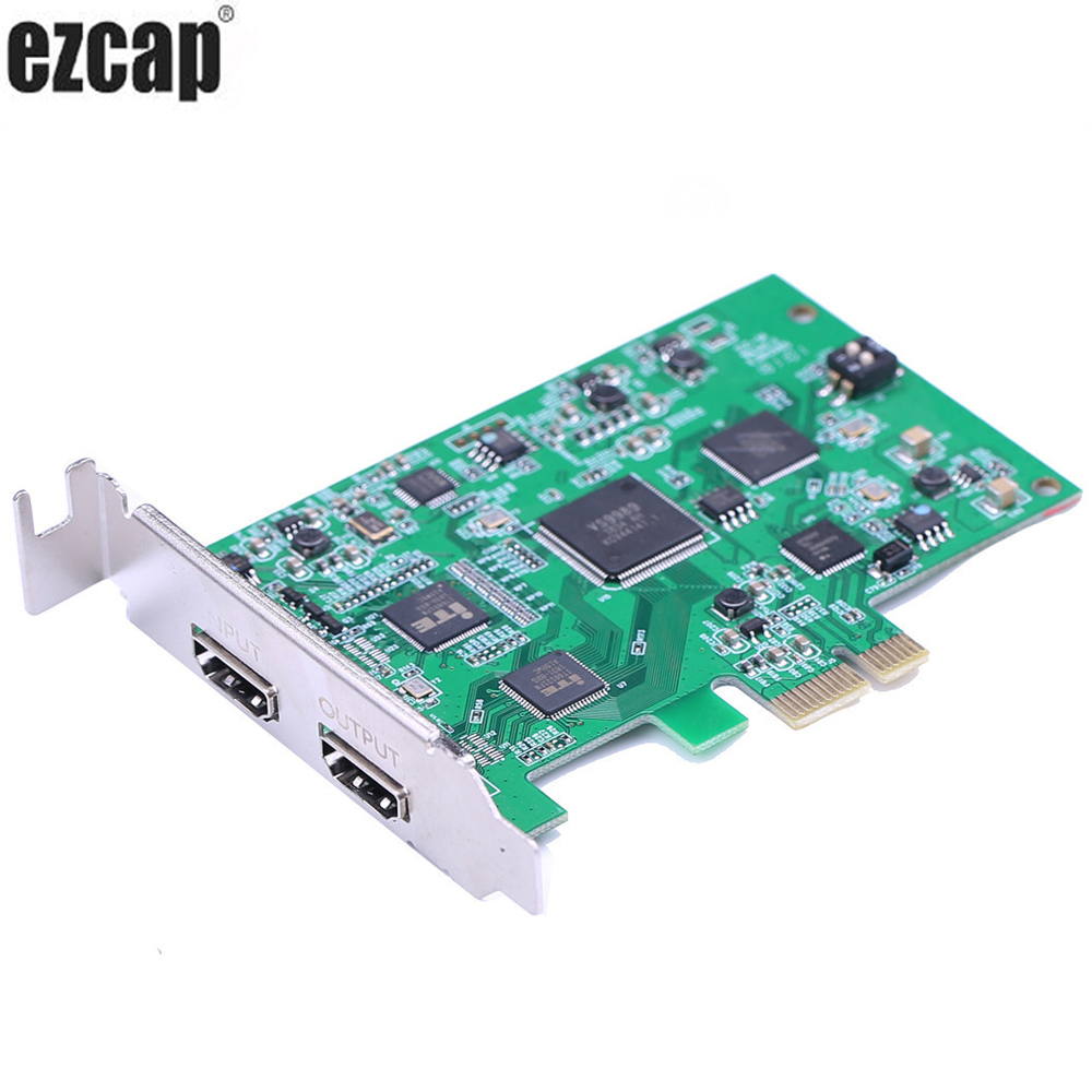 PCIE PCI Express HDMI Video Capture Card Game Recording 1080p 60pfs for PS3 PS4 OBS Wirecast vMix Live Streaming Broadcast
