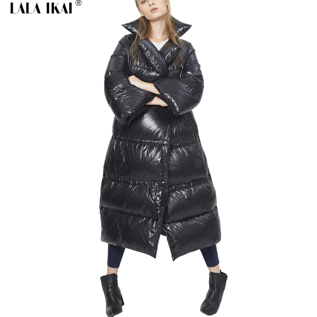 Dames Parka Zomerjas.Vrouwen Zwart Stand Kraag Down Jas Italie Mode Dames Parka Winterjas