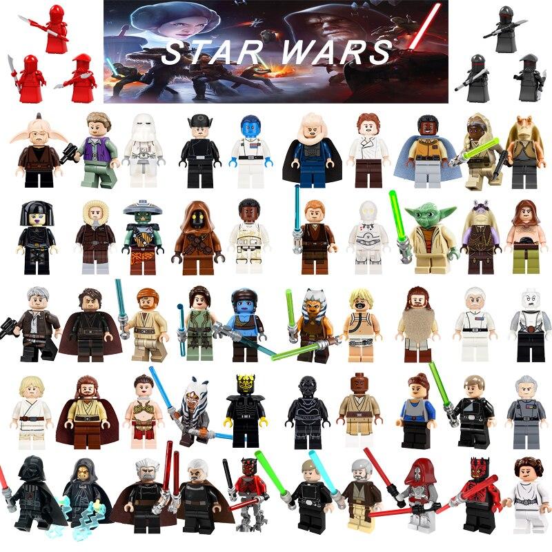 Unica-venda-legoing-blocos-de-construcao-de-star-wars-han-solo-leia-darth-vader-yoda-yoda-luke-r2d2-legoing-font-b-starwars-b-font-2018-figuras-brinquedo