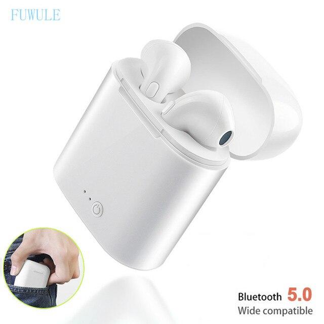 I7s TWS Bluetooth 5,0 Беспроводные наушники с зарядным устройством Мини спортивная Гарнитура Audifonos для всех смартфонов и мобильных телефонов