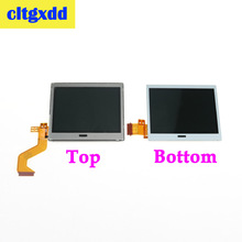 Cltgxdd En Üst/Alt alt lcd ekran Ekran onarım Yedek Nintendo DSLite Için DS Lite NDSL Için bileşen