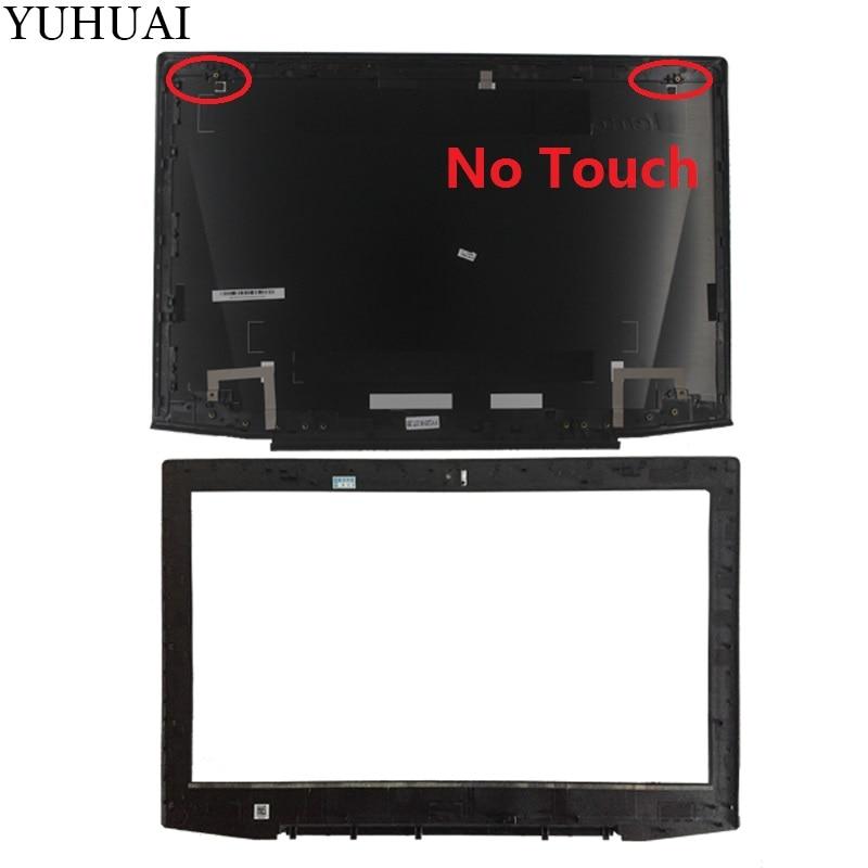 Nouveau POUR Lenovo Y50 Y50-70 Y50-70A Y50-70AS-IS Y50-80 15.6 LCD Haut de Couverture Arrière Couvercle/LCD Lunette Couverture Aucun tactile