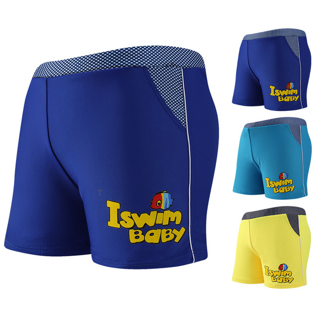 a3b82ba5f1 Best Offers New Children's Swimming Trunks Teenage Boys Plain Boxer Shorts  With Belts Youth Beach Swimwear