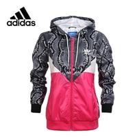 Original New Arrivial Official Adidas Originals Women S Jacket Hooded Sportswear