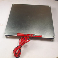 SWMAKER Reprap Prusa MK2 PCB Heated Bed Full Kit For DIY 3D Printer Building Plate Wooden