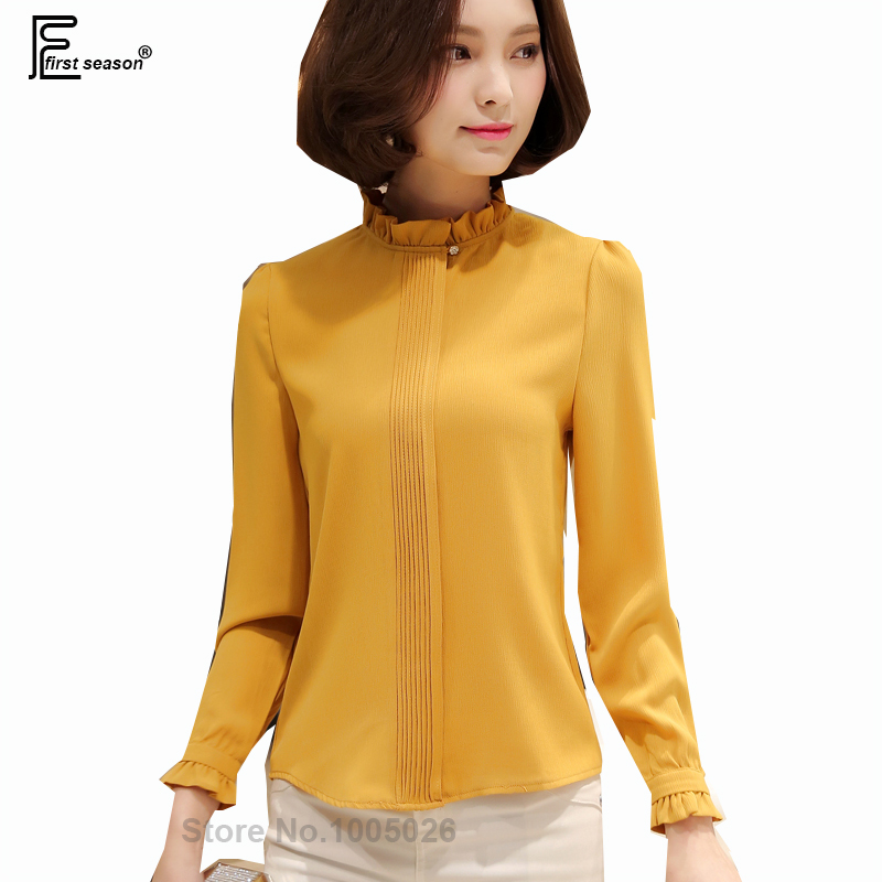How To Style A Yellow Blouse 65