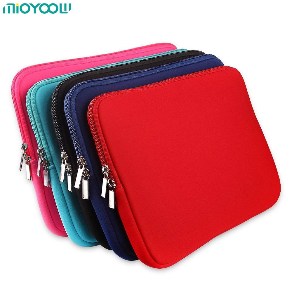 Fashion Soft Laptop Bag for Macbook air Pro Retina 11″ 13″ 15″ 15.6 Sleeve Case Cover For Notebook Computer Laptop Accessories