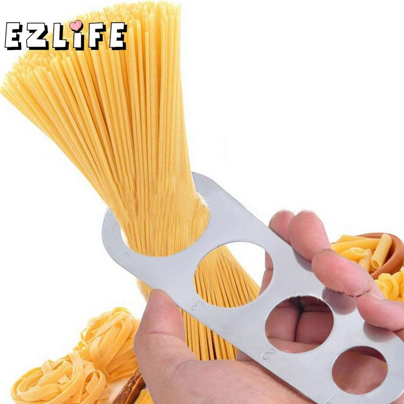 Easy Use Noodle Measurer Stainless Steel Alloy Spaghetti Measurer Pasta Noodle Measure Cook Kitchen Gadget Tools GF373 image
