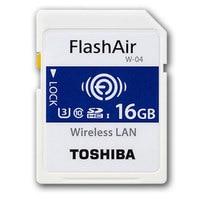 Toshiba WIFI SD Card 16GB/32GB/64GB SDHC Memory Card U3 Wireless WIFI FlashAir W 04 Class10 Digital SD Memoria for Camera New