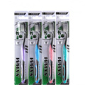 30 UNIDS Doble Ultra Soft Cepillo de Carbón De Bambú Nano Cepillo Oral Care 625 Nano-antibacterial cepillo de Dientes Cabezas Negras SE10