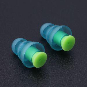 Image 3 - 1 쌍의 실리콘 귀마개 소음 제거 재사용 가능한 귀 플러그 수면 용 청력 보호 dj bar bands sport