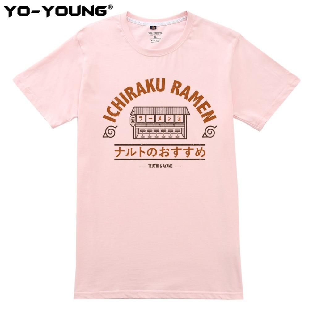 Anime Naruto Ichiraku Ramen T Shirts Ανδρικά Ψηφιακές - Ανδρικός ρουχισμός - Φωτογραφία 3