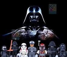 Star Wars The Force mylb 8 pçs/set Desperta Dargo 867 Kylo Ren BB-8 R5-D4 Clássico Coleção figuras Presente Bloco de Construção