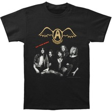 Military T Shirts MenS O-Neck Aerosmith Get Your Wings Short Sleeve Best Friend
