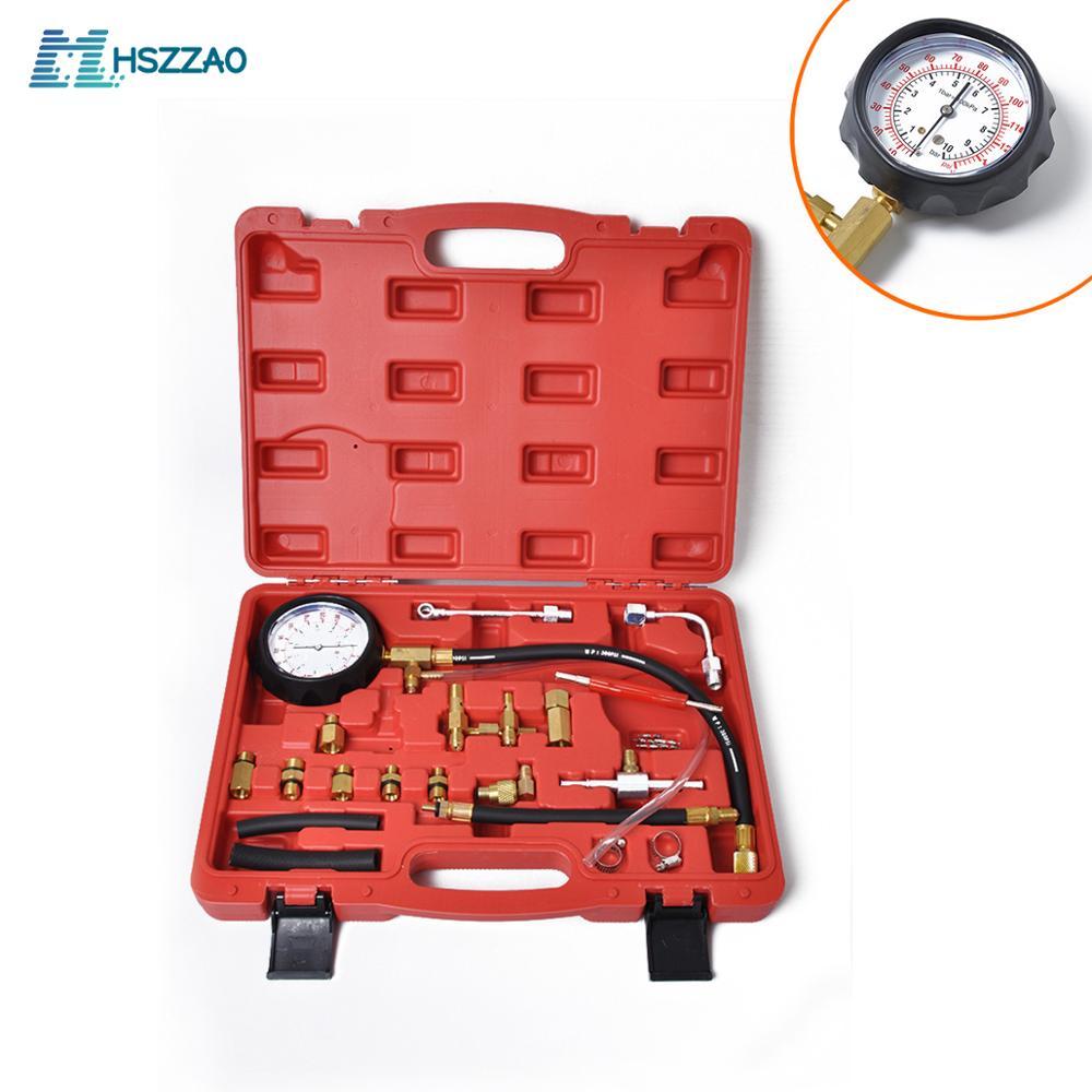 0 140PSI инжектор топлива инжекторный насос тестер давления набор автомобильных инструментов (Master) автомобильные аксессуары