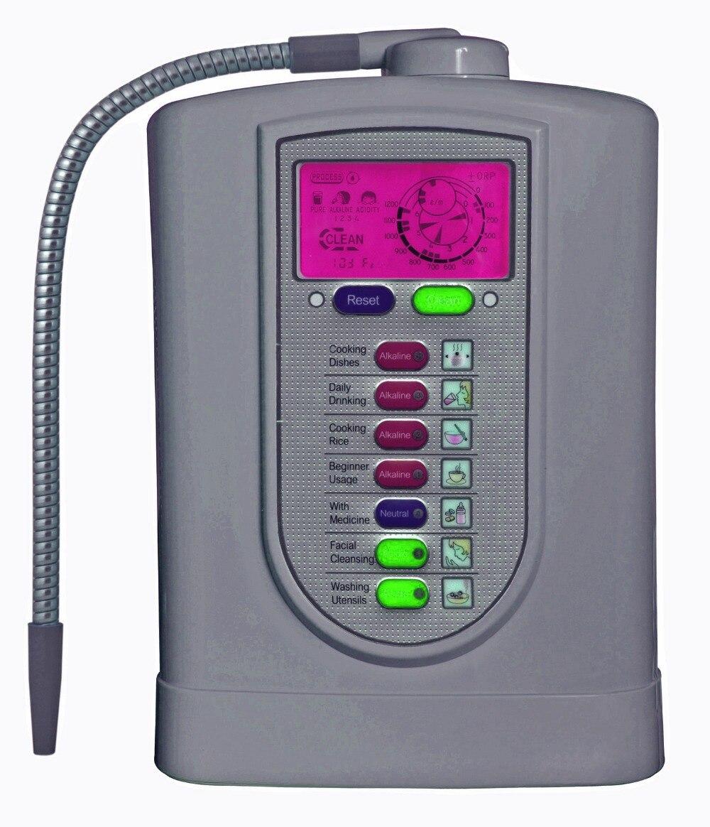 Alcaline ioniseur d'eau (Japon Technology, Chine fabricant) avec NSF certifié filtre intégré + pH test bande (1 boîte)