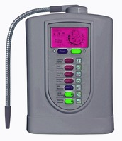 Alkaline water ionizer(Japan Technology,China manufacturer) with NSF certified built in filter+pH test strip(1box)