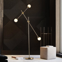 Nordic LED living room standing fixtures Postmodern floor lights  home illumination deco lighting bedroom lamps