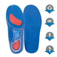 Insole MenS Sports Shock Training Military Insoles Silicone Male Long Standing Artifact