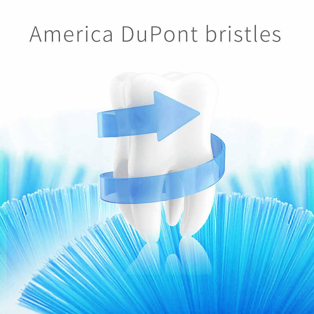 HERE-MEGA звуковая электрическая зубная щетка для путешествий портативная зубная щетка электрическая Глубокая очистка зубные щетки Отбеливание гигиена полости рта 101