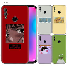Funda de silicona funda para Huawei Honor 10 9 Lite 8X 8C 8A Y6 Y7 Y9 7A Pro primer 7C 2018 2019 V20 estoy bien Tumblr Simple(China)