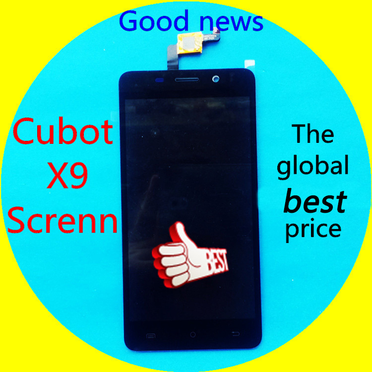 Free CUBOT X9 Screen LCD Display Touch Glass Panel Digitizer 100 Original New Assembly Replacement font
