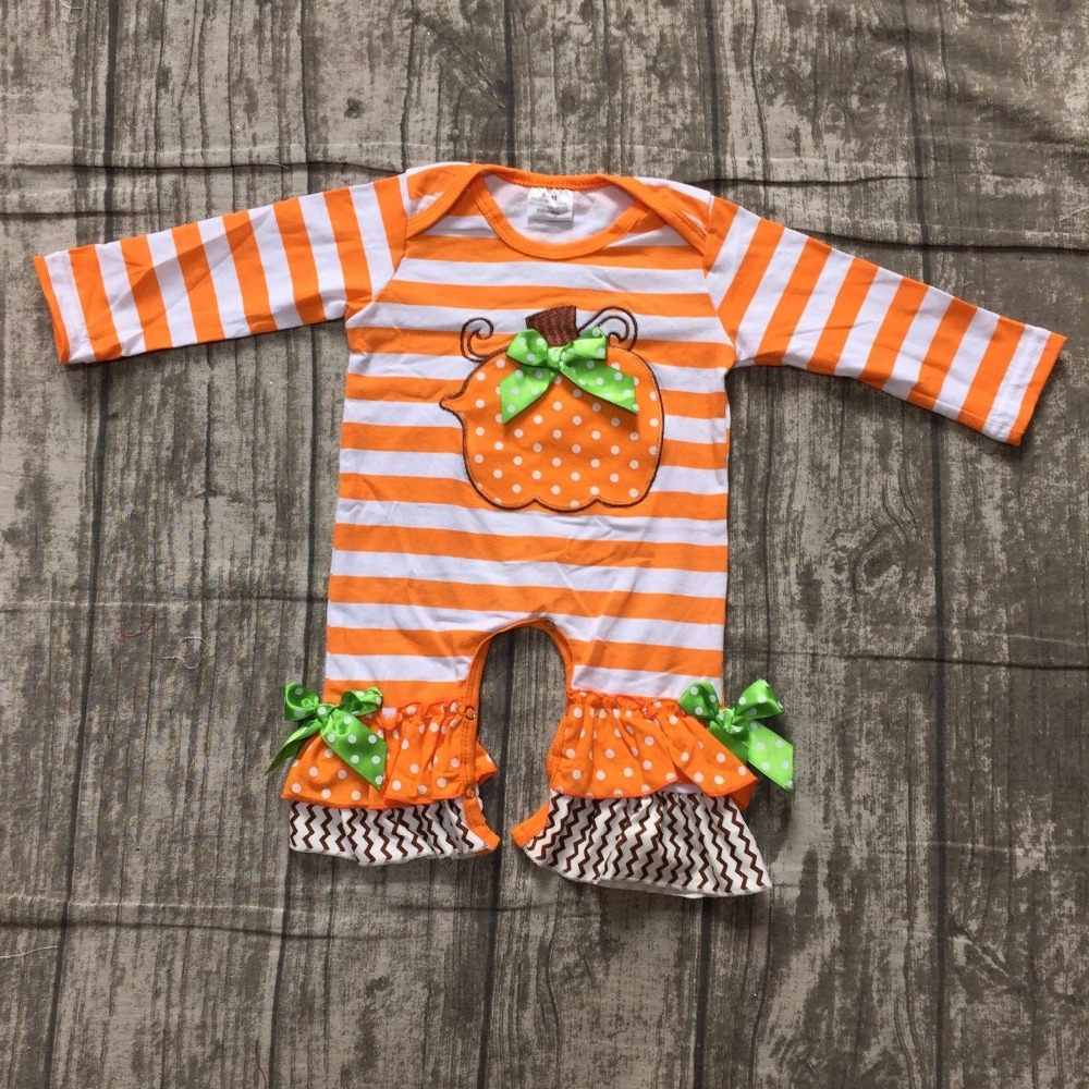 girls Halloween jumpsuits sets infant toddler baby girls Halloween romper outfits baby infant girls pumpkin stripes romper sets myofunctional infant trainer phase ii hard oringal made in australia infant primary dentition trainer girls