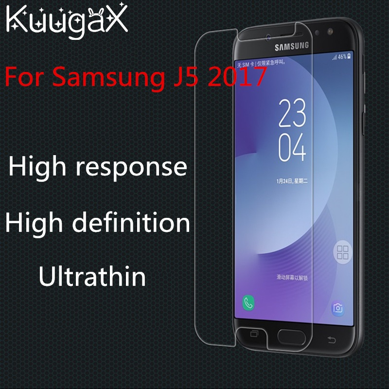 Screen protective cover Tempered Glass For Samsung Galxy J5 2017 J530F J5Pro 5.2 inch 9H smartphone toughened display cases smartphone